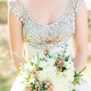Stunning St Pucchi Wedding Gown